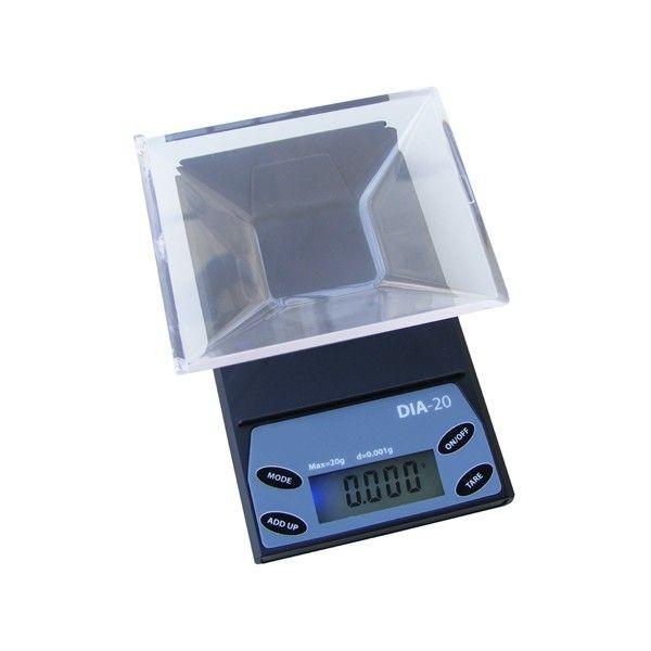 Báscula digital de precisión DA-20