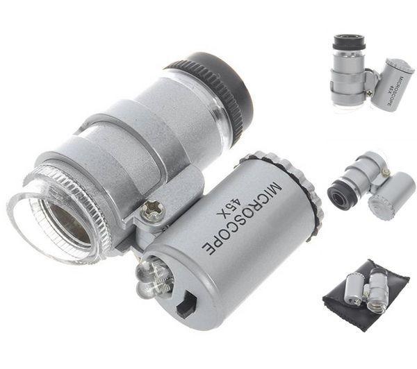 Microscopio Mini Led 45x