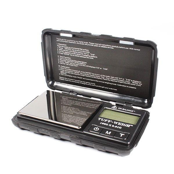 Báscula de precisión Resistente Tuff  Weigh l 100g x 0,01gEDICIÓN ESPECIAL